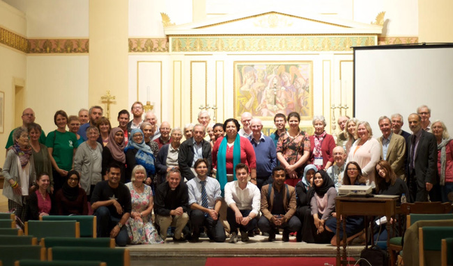 Group photo at the Interfaith Climate Symposium.