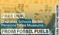 Global divestment mobilisation poster