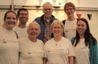 Operation Noah volunteers meet Bill McKibben at Greenbelt.